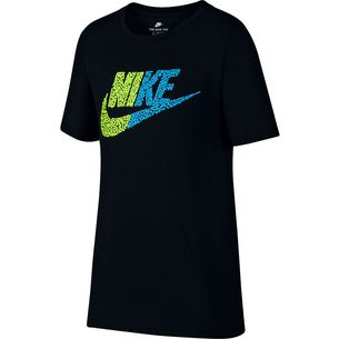 Nike T-Shirt Kinder black-volt