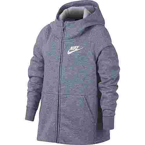 Nike Sweatjacke Kinder ashen slate-htr-white