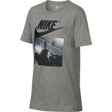 Nike T-Shirt Kinder dk grey heather