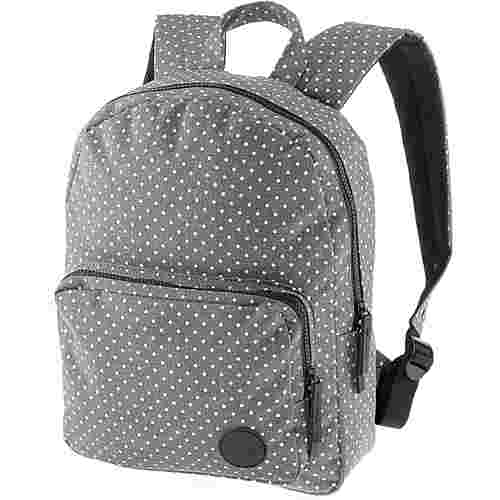 Enter Daypack melange grey white polka dot