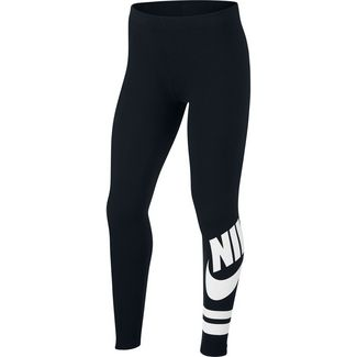Nike Tights Kinder black-white