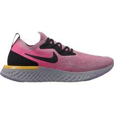 Nike EPIC REACT FLYKNIT Laufschuhe Damen plum dust-black-pink-blast-ama