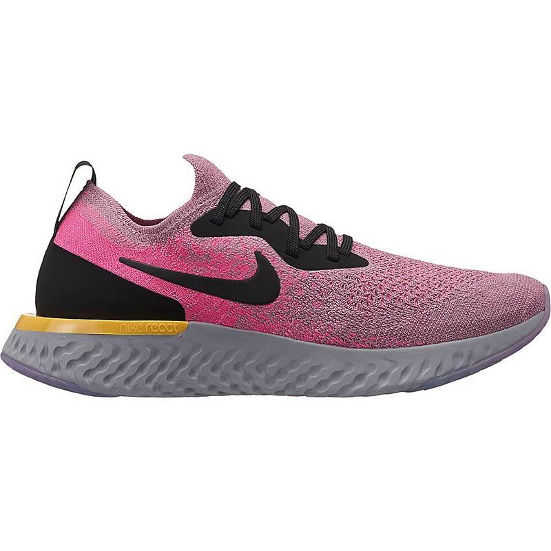 competitive price bfdb4 00b86 Nike EPIC REACT FLYKNIT Laufschuhe Damen plum dust-black-pink-blast-ama