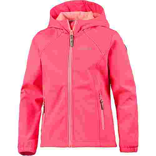 ICEPEAK TUUA Softshelljacke Kinder hot-pink