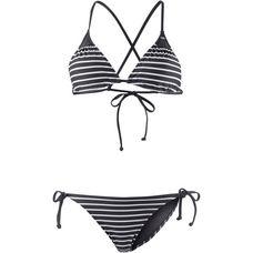O'NEILL Triangelbikini Damen black aop-white