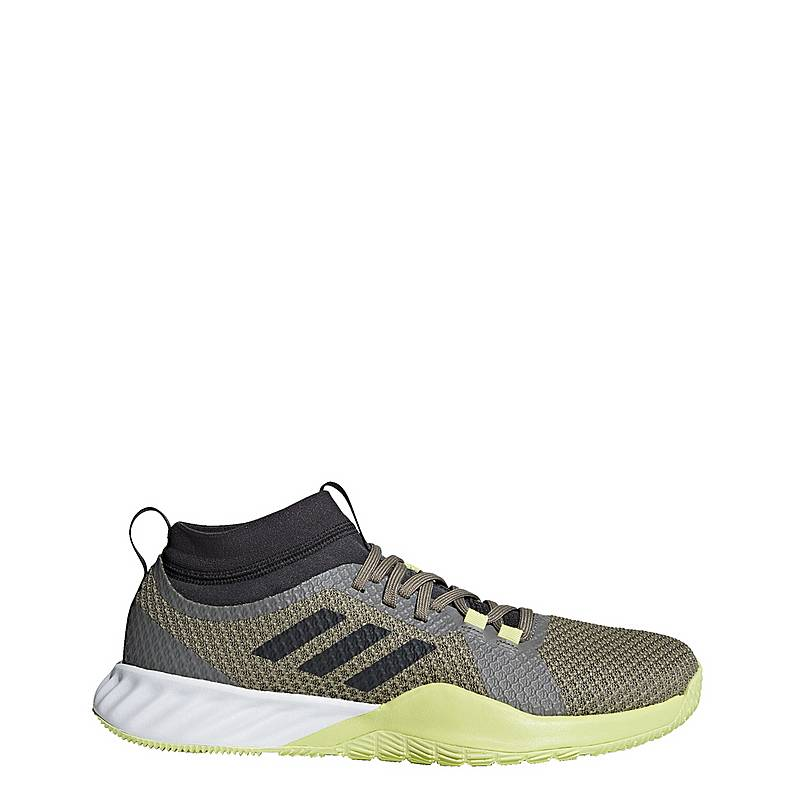 sneakers for cheap 1ceb4 35a26 adidasCrazytrain Pro 3 Schuh FitnessschuheHerren Green Carbon Semi Frozen  Yellow