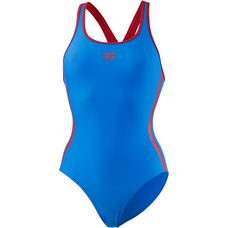 Arena Hyper Badeanzug Damen blau-rot