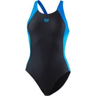 Arena Ren Badeanzug Damen schwarz-blau