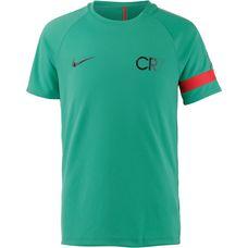 Nike CR7 Funktionsshirt Kinder kinetic green-deep pewter-metallic black