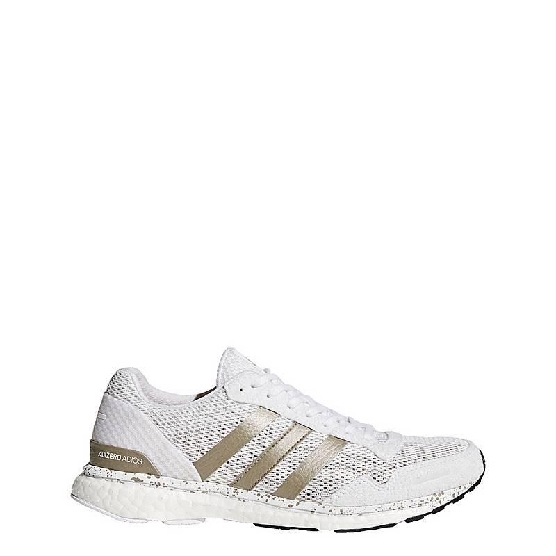 adidasAdizero Adios 3 Schuh  LaufschuheDamen  Ftwr White/Cyber Metallic/Core Black