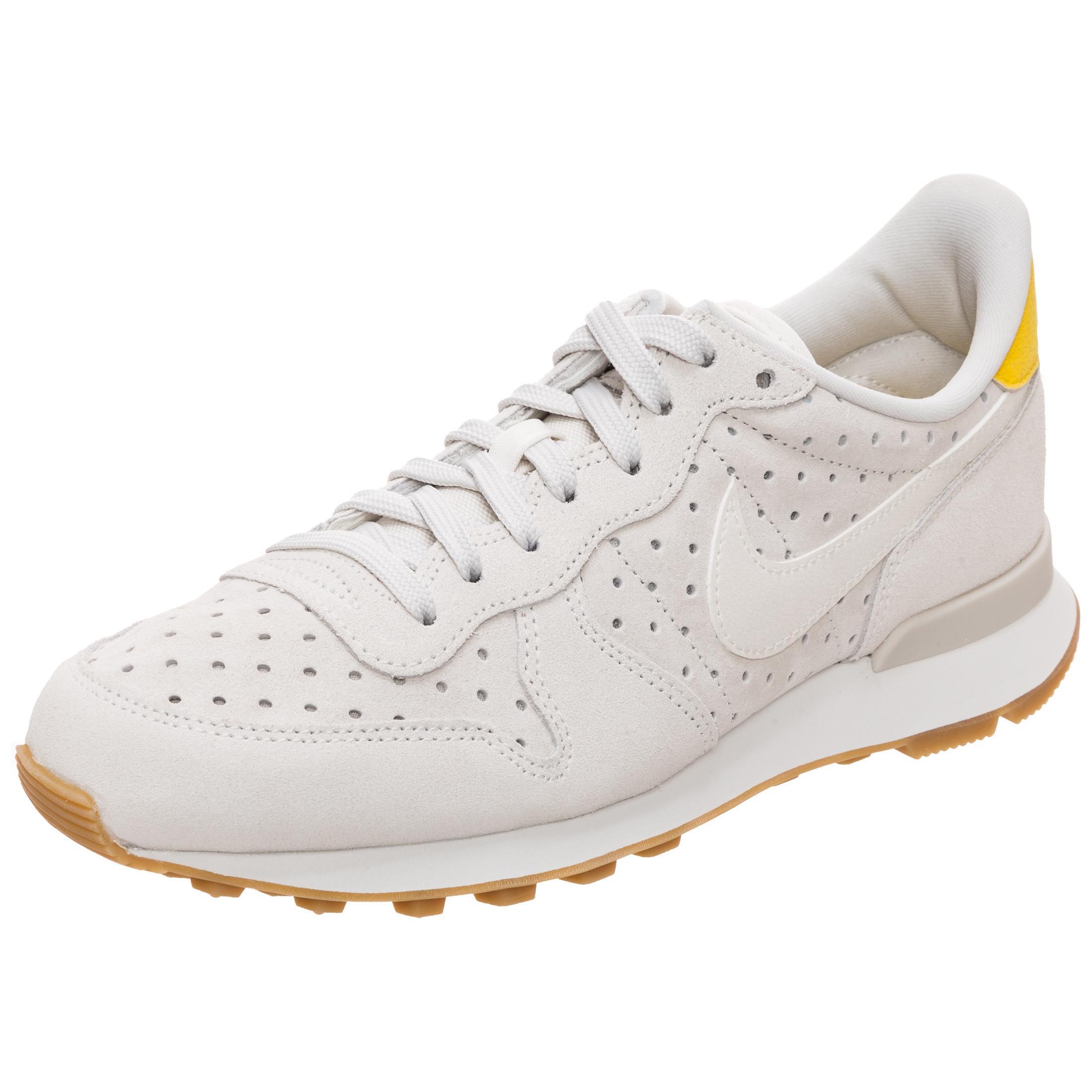 Nike Internationalist Premium Sneaker Damen beige / gelb im Online ...