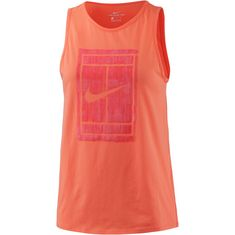 Nike W NKCT TANK TOMBOY Tennisshirt Damen lt wild mango