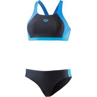 Arena Ren Bikini Set Damen schwarz-blau