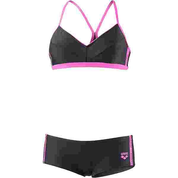 Arena Hyper Bikini Set Damen schwarz-pink