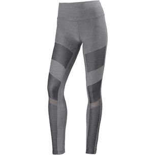 alo yoga High-Waist Seamless Moto Tights Damen anthracite heather