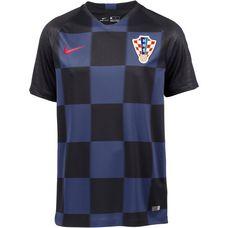 Nike Kroatien 2018 Auswärts Fußballtrikot Herren black-midnight navy-challenge red