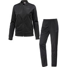 PUMA Classic Trainingsanzug Damen puma black-puma black