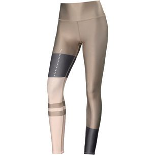 alo yoga High-Waist Tech Lift Airbrush Tights Damen gravel-rich sand