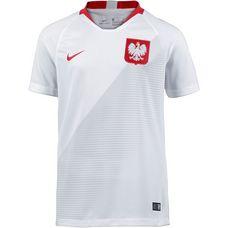 Nike Polen 2018 Heim Fußballtrikot Kinder white-sport red-sport red