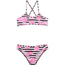 O'NEILL Bandeau Bikini Kinder black-pink
