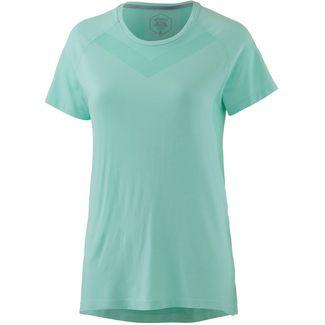 ASICS COOL Laufshirt Damen opal green