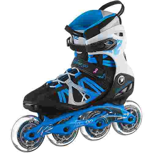 K2 Helena 90 Fitness Skates Damen schwarz-blau