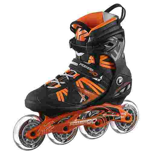 K2 Power 90 Fitness Skates schwarz-orange