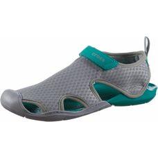 Crocs Swiftwater Mesh Wasserschuhe Damen light grey