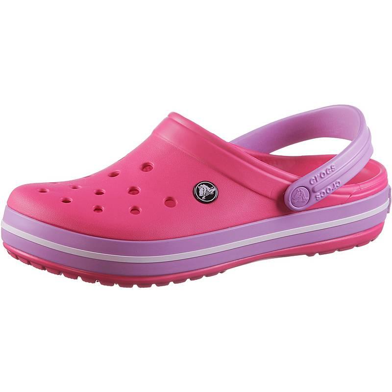 Pantoletten CROCS - Crocband 11016 Paradise Pink/Iris ZsC0yM6n