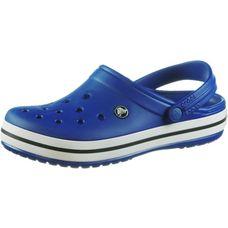 Crocs Crocband Pantoletten cerulean blue/oyster