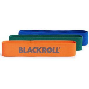 BLACKROLL Gymnastikband black-green-blue