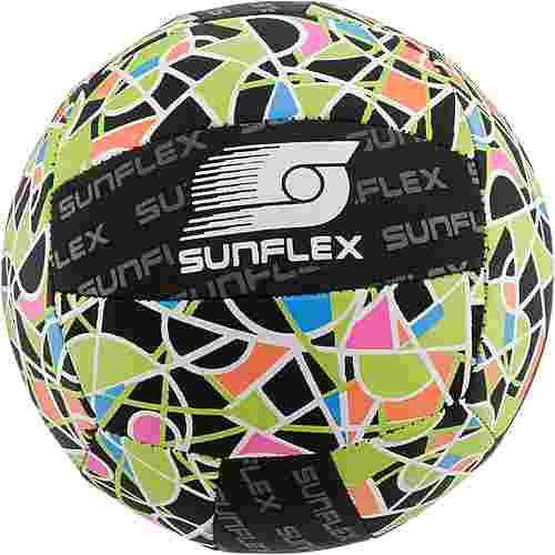 Sunflex Ball Gr. 3 Beachball schwarz/bunt