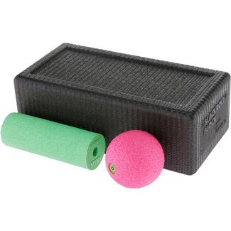 BLACKROLL Faszien Set black-green-pink