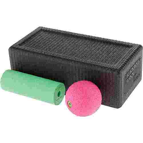 BLACKROLL Faszien Set black-green-pink