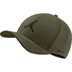 Nike JORDAN JUMPMAN CLC99 WOVEN Cap olive canvas-black