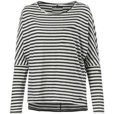 O'NEILL ESSENTIALS STRIPED Langarmshirt Damen white-black