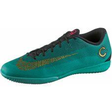 Nike MERCURIAL VAPORX 12 ACADEMY CR7 IC Fußballschuhe Herren clear  jade-mtlc vivid gold-