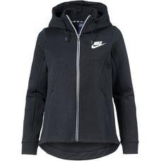 Nike Advanced Sweatjacke Damen black-white