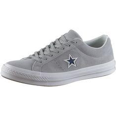 CONVERSE ONE STAR OX Sneaker Herren wolf grey-white-navy