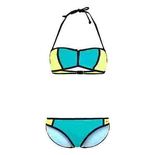 Bench Bikini Set Damen türkis-lime
