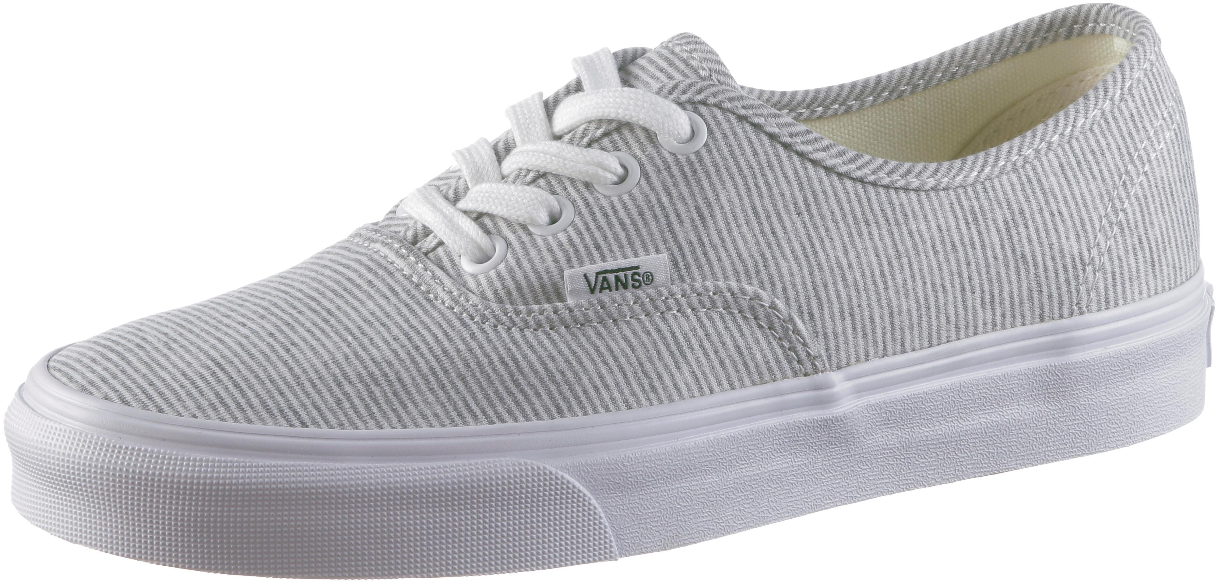 Vans Authentic Sneaker Damen gray-true white im Online Shop von SportScheck  kaufen