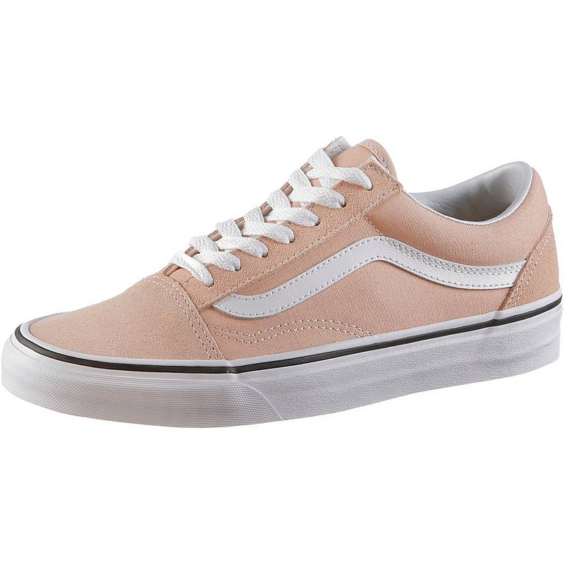 vans damen old skool rot