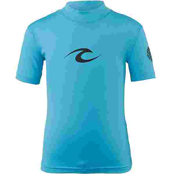 Rip Curl GROM CORPO S/S Surf Shirt Kinder BLUE