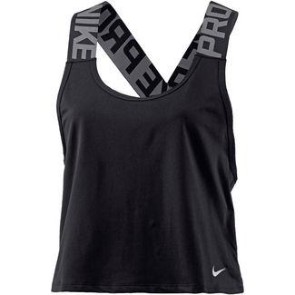 Nike Pro Crossover Funktionstank Damen black-white
