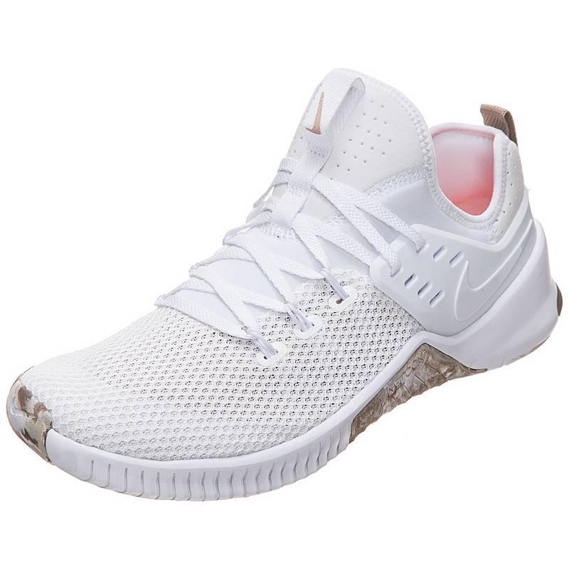 NikeFree Metcon  FitnessschuheHerren  weiß / braun