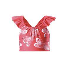 reima Calamari Bikini Oberteil Kinder Red