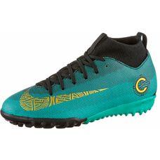 Nike JR MERCURIAL SPERFLY 6 ACADEMY GS CR7 TF Fußballschuhe Kinder clear  jade-mtlc vivid