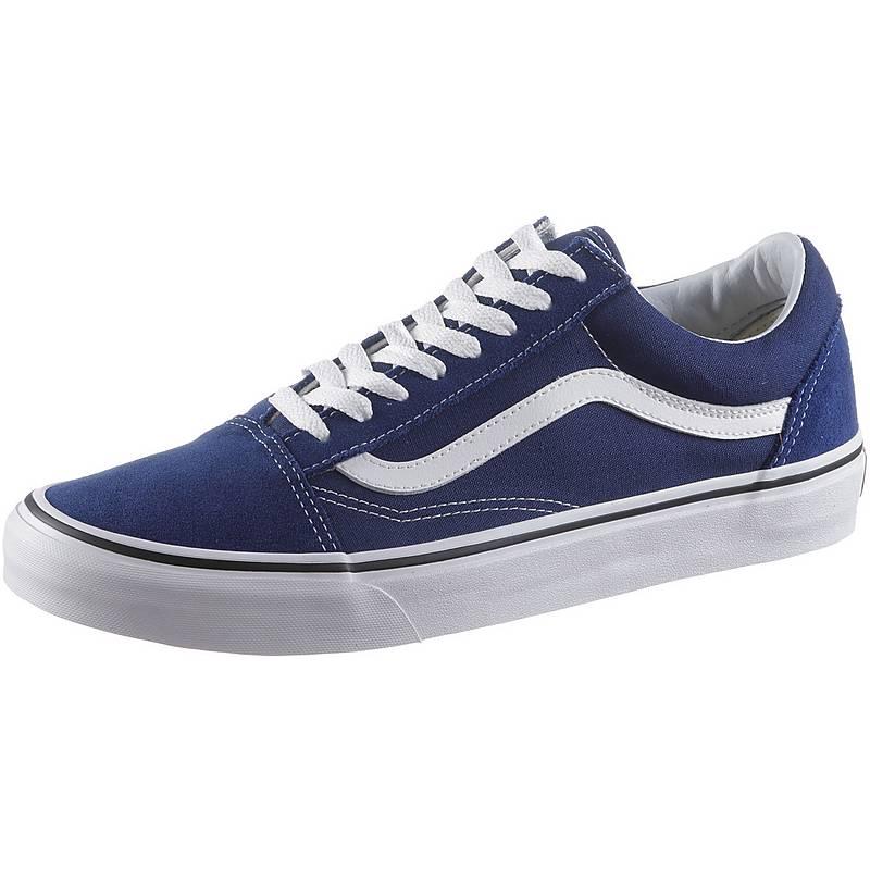 vans herren blau sneaker