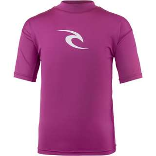 Rip Curl BOYS CORPO S/S Surf Shirt Kinder PURPLE