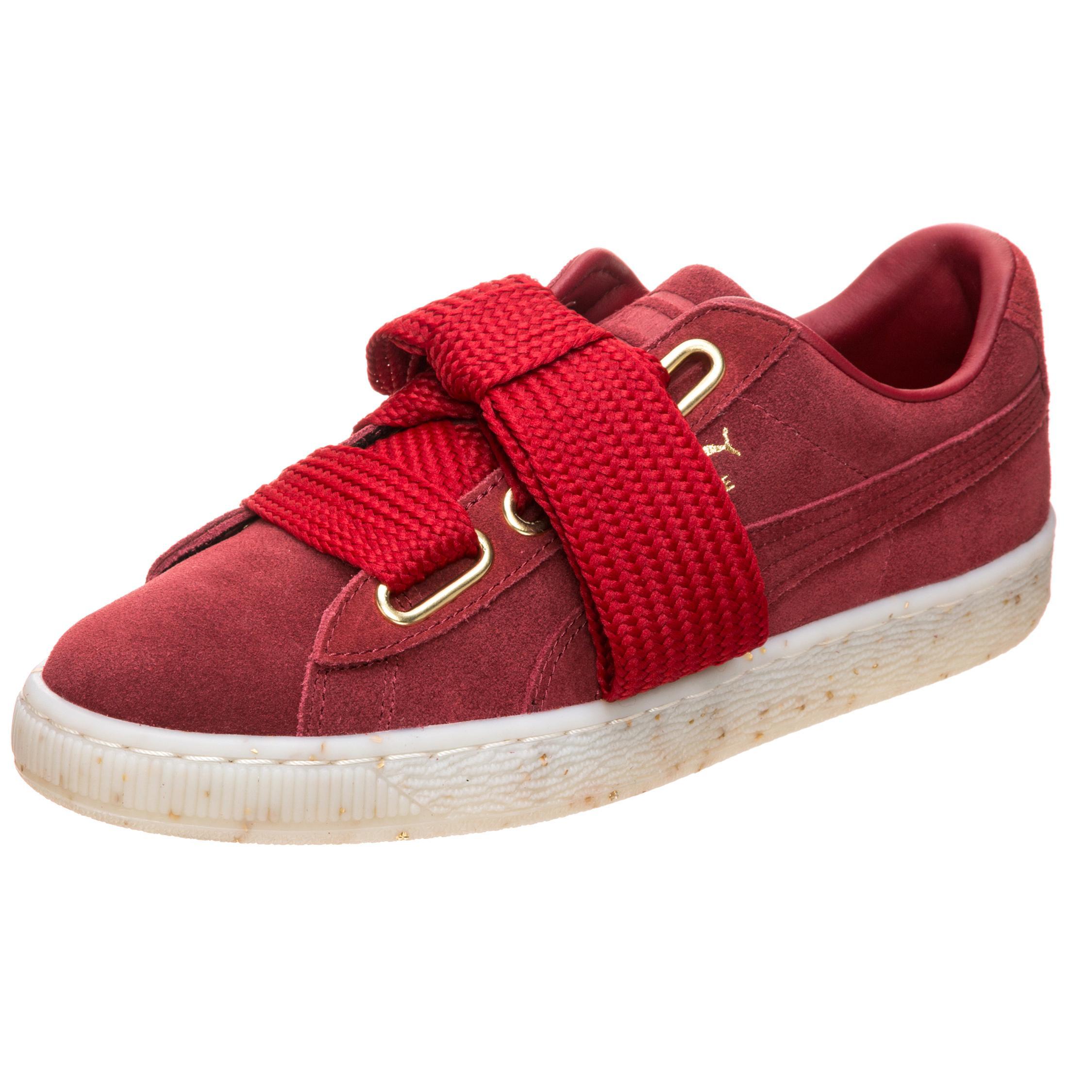 PUMA Suede Heart Celebrate Sneaker Damen rot im Online Shop von SportScheck kaufen Gute Qualität beliebte Schuhe